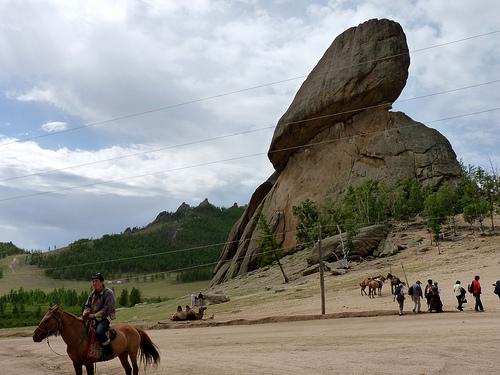 Parque Nacional en Mongolia
