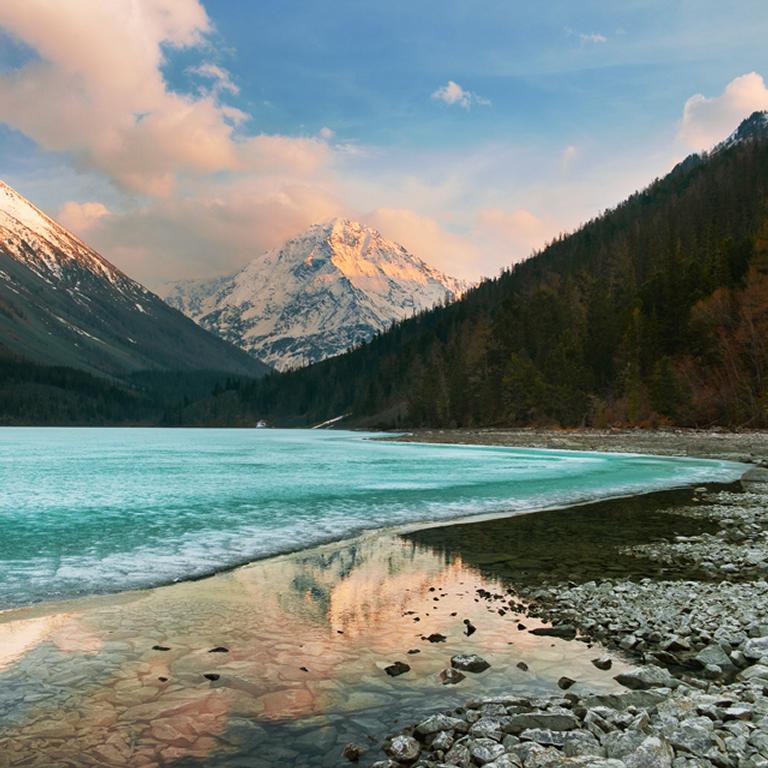 El Lago Teletskoye
